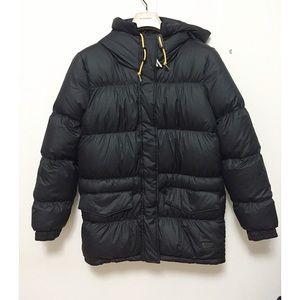 NWT Adidas Original Heavy Down Parka Coat Black
